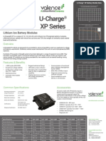 XP Modules Datasheet 042919
