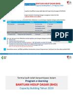 Panduan e Learning BCLS (Capacity Building 3,4 Agustus 2019)