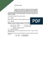 Design Parameters for Stone Column