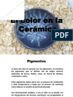 El color en la ceramica