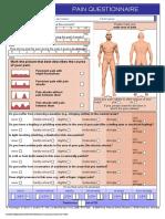 Form pain detect