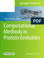 Computational Methods in Protein Evolution 2019