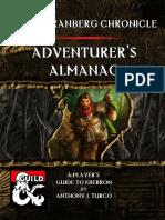 Eberron - The Korranberg Chronicle - Adventurers Almanac