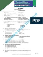 MDCAT CRASH TEST 1 BIOLOGY.pdf