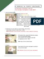 Handling Manual for Urethane