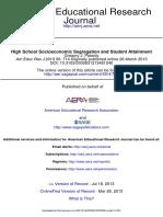 Palardy - High School Socioeconomic Segregation and Student Attainment.pdf