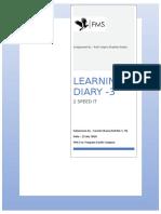 18SC079 Learning Diary(3) SureshKharia