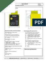 04-15-20310 Grade Controller G-176 Plus Spec