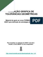 ANIMAÇÕES GRÁFICAS TOLERÂNCIAS GEOMÉTRICAS