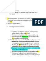 Parliamentary Rules- Notes