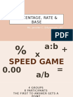 PPT1 Percentage Rate Base