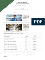 Ncr – Timber Formworks Prices _ Philcon Prices