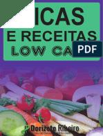 dicas e receitas low carb