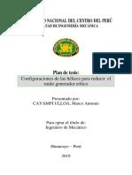 Formato de Redacción de Plan de Tesis