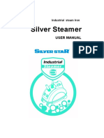 Silverstar Steamer SR-5000,SR-8000 Instruction Manual