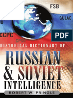 Historical Dictionary of Russi
