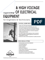Testing of High Voltage Equipment.pdf