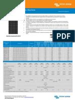Datasheet BlueSolar Monocrystalline Panels FR