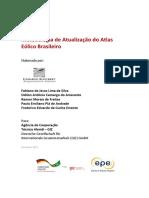 Metodologia Para Elaboração de Um Novo Atlas Eólico Para o Brasil