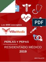 Residentado Médico 2019 - Perlas  Pepas Parte 2