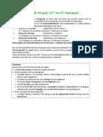KJV Inschrijvingsformulier Groep 3 (8 Tot 10 Jaar- 3e en 4e Leerjaar) b