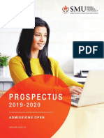SMUDE Prospectus-Fall2019