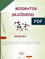 Aula de Carboidratos (1)