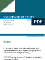 Development of Ethics