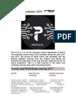 Protocol Newsletter BMSCE