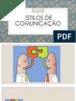 Estilos de Comunicaao