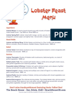 LobsterFeastMenu Web