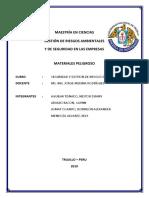 MATERIALES PERLIGROSO