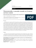 Esteroides Sexuales en El SNC