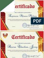 Certificado Anual Cómputo