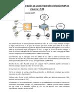 Instalacion y Configuracion de Un Servidor de Telefonia VoIP en Ubuntu 12 PDF