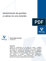 PPT 1.1 Identificacion de Partidas a Cubicar en Una Vivienda