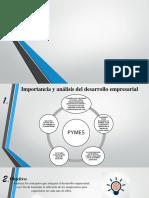 Importancia y Analisis Del Desarrollo Empresarial