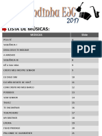 Letras - Bandinha - EJC