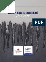 Programme Sciences et société 2019-2020
