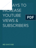 How to Increase Youtube Views and Subscribers in 2019-20
