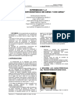 informe laboratorio de maquinas electricas