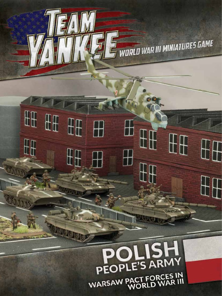 POLISH DECAL SET TWP951 TEAM YANKEE