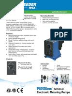 Pulsatron Series E Specifications En