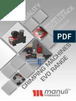 Crimping Machines Evo Range