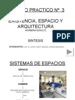 existencia, espacio y arquitectura