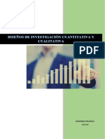 Diseños de Investigación Cuantitativa y Cualitativa