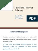 Einstein theory of relativity_Yogesh.pdf