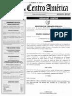 Bonos Del Tesoro - Acuerdo Gub Enero 2016