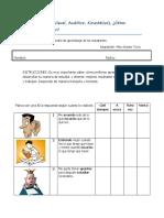 Test estilos de Aprendizaje