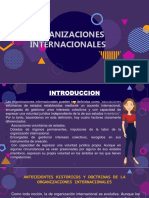 ORGANIZACIONES INTERNACIONALES-semana5